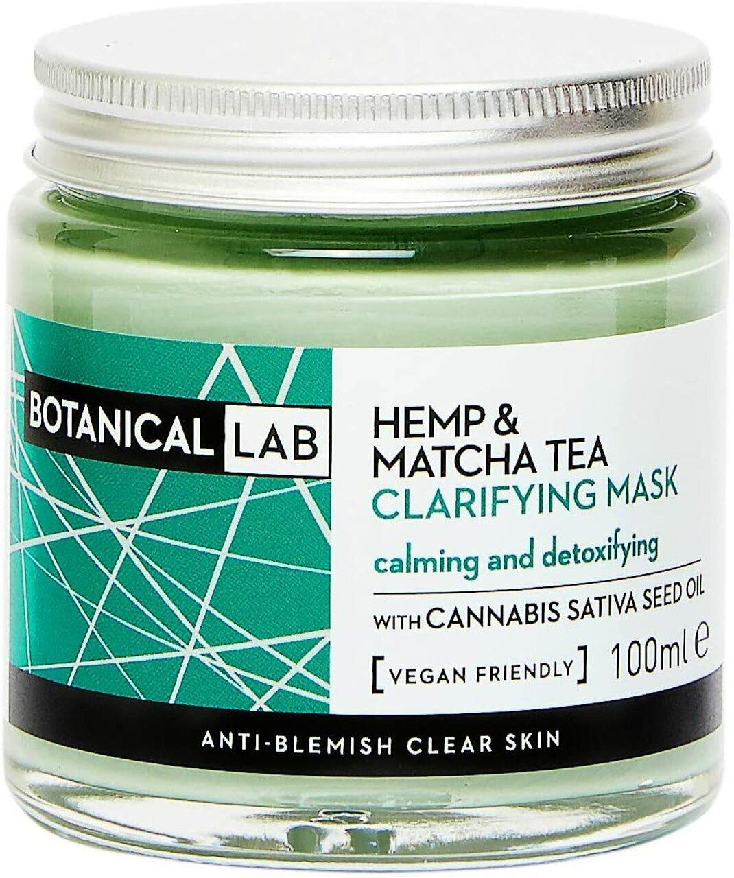 Botanical Lab Hemp & Matcha Tea Clarifying Mask