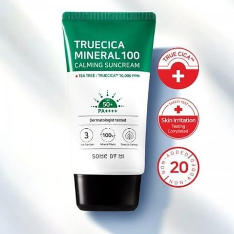 Some By Mi True Cica Mineral 100 Calming Sunscreen