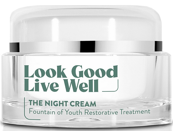 Look Good Live Well The Night Cream - Fountain Of Youth Restorative Treatment