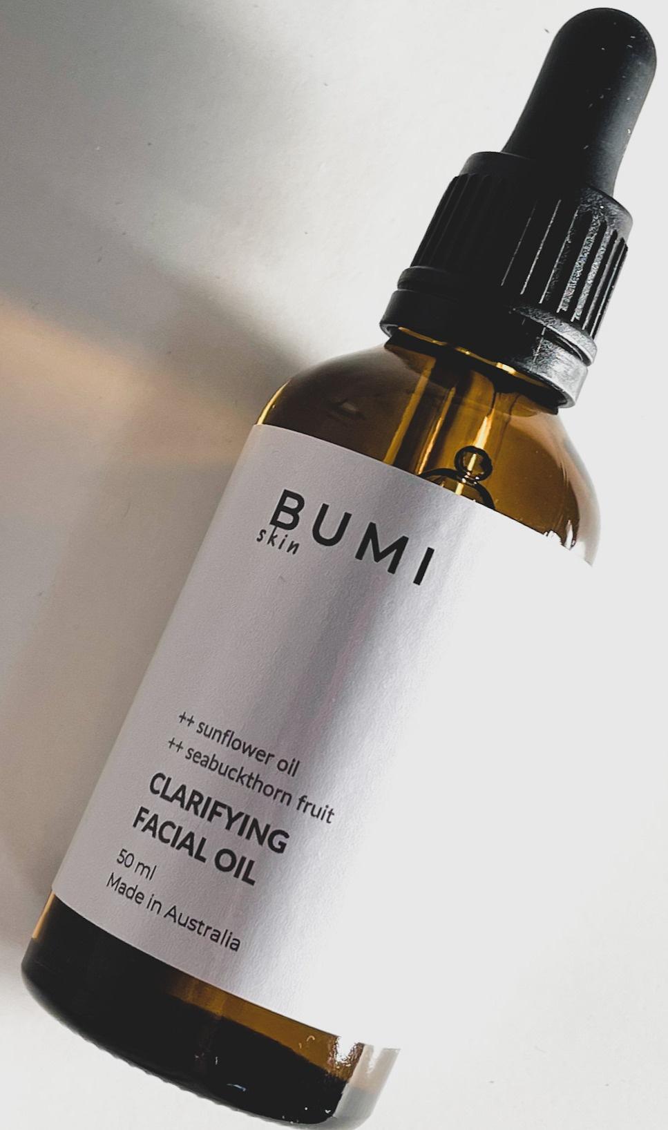 Bumi Skin Clarifying Facial Oil