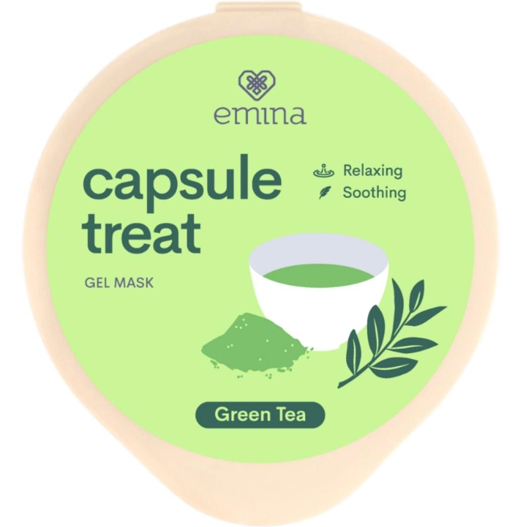 Emina Capsule Treat Gel Mask Green Tea