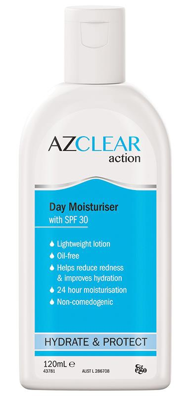 Azclear Action Moisturiser SPF 30+
