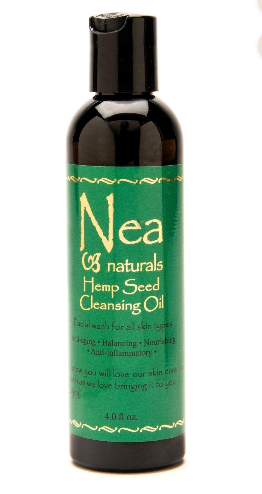 Nea Naturals Hemp Seed Cleansing Oil