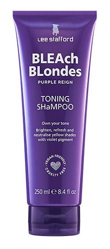 Lee Stafford Bleach Blondes Purple Reign Toning Shampoo
