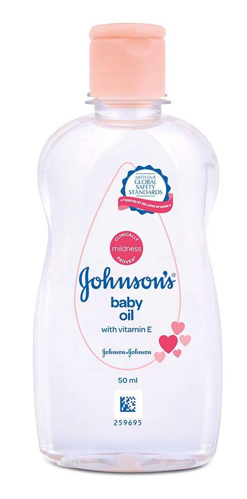 Johnson's baby Baby Oil With Vitamin E