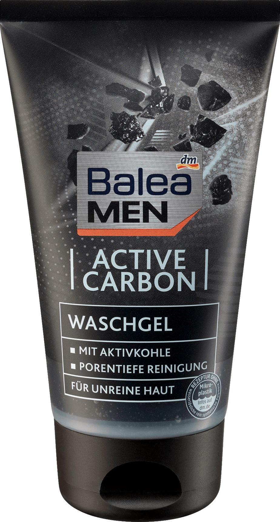 Balea MEN  Active Carbon Waschgel