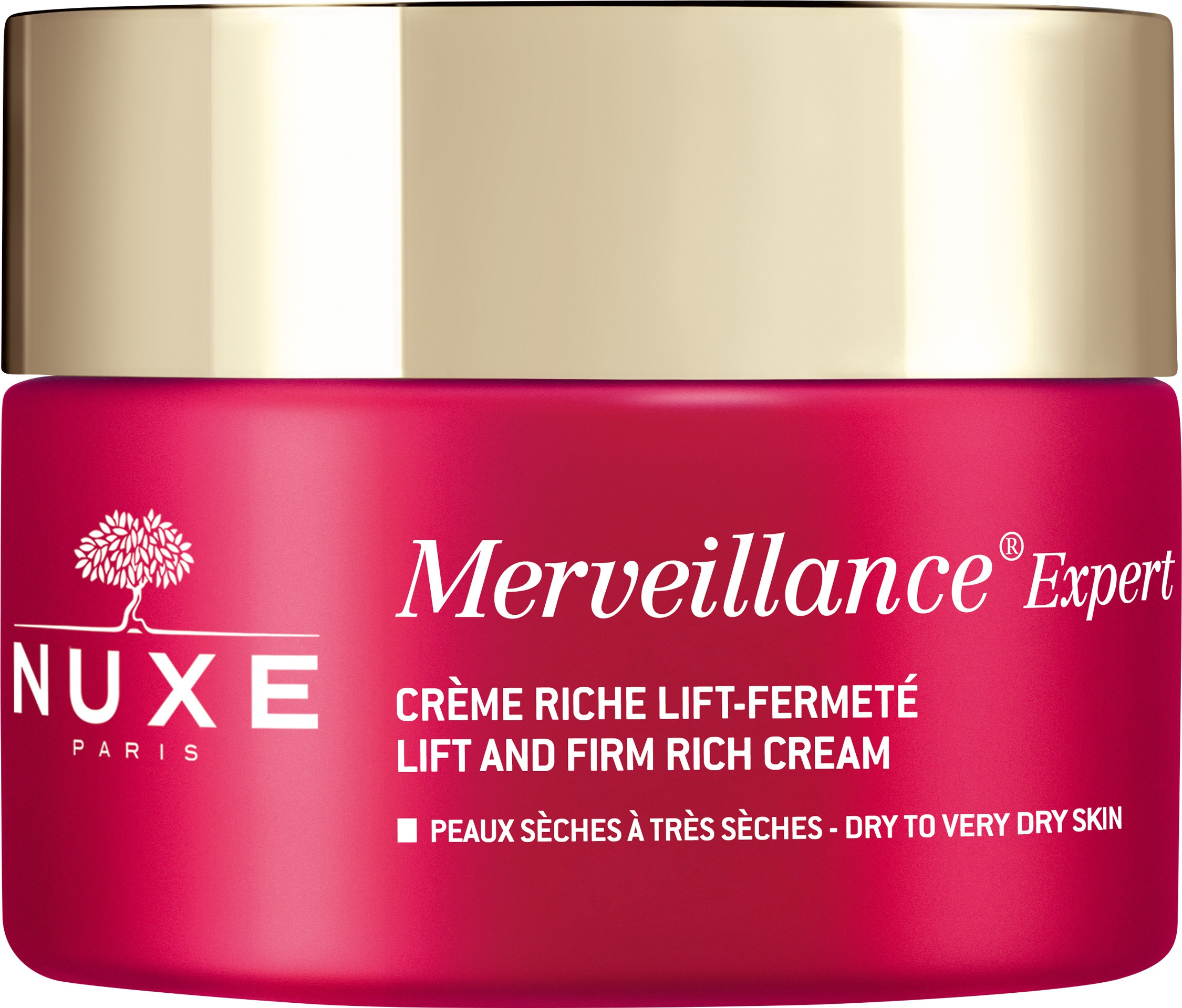 Nuxe Merveillance Expert Lift & Firm Rich Night Cream Dry To Very Dry Skin