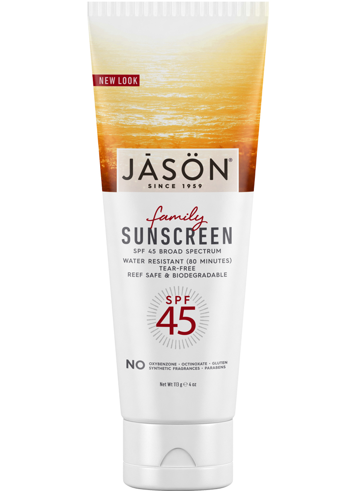 Jason Family Natural Sunscreen Spf45