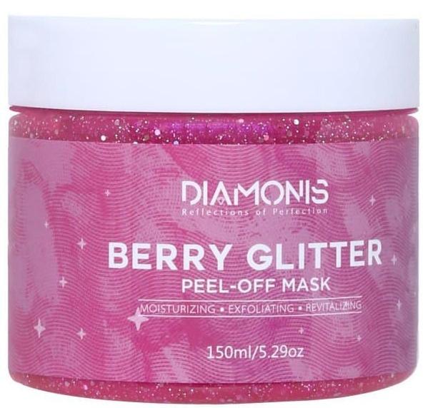 Diamonis Berry Glitter Peel-Off Mask