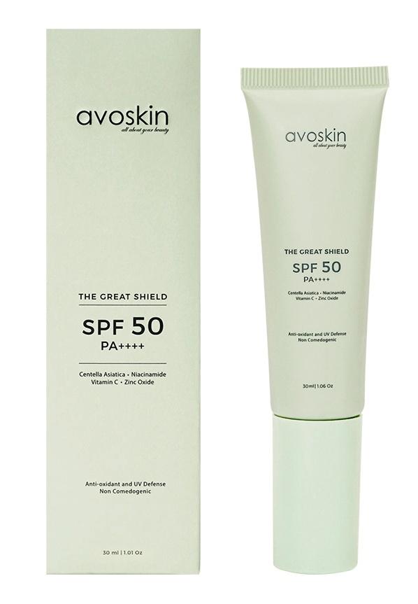 Avoskin The Great Shield Sunscreen SPF 50 PA++++