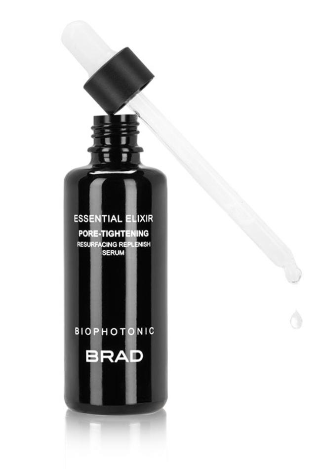 BRAD Biophotonic Skin Care Essential Elixir Pore-Tightening Resurfacing Replenish Serum