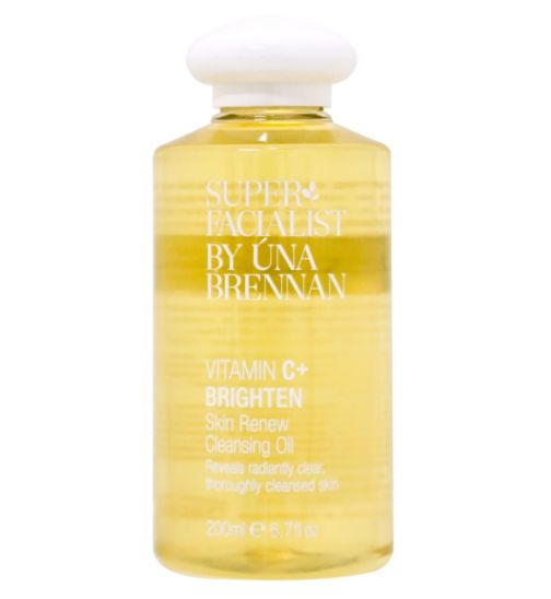 Superfacialist Vitamin C+ Skin Renew Cleansing Oil