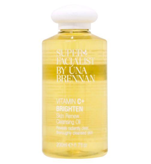 Superfacialist Vitamin C+ Skin Renew Cleansing Oil