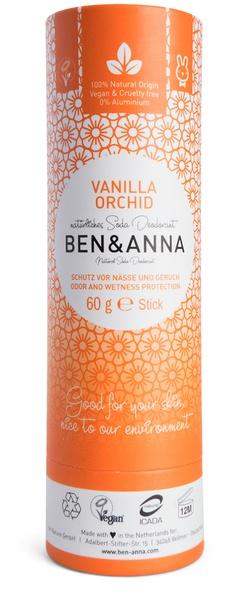 Ben & Anna Natural Soda Deodorant Vanilla Orchid