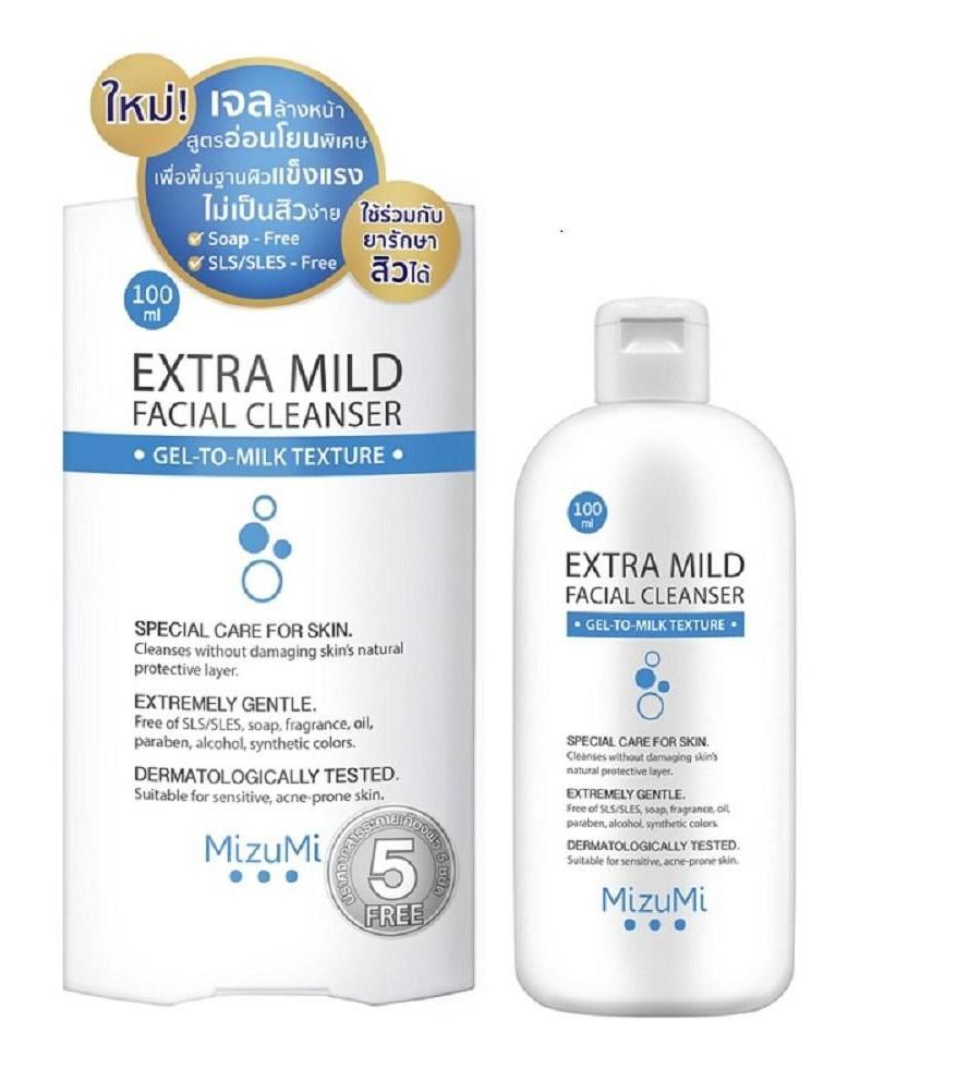 MizuMi Extra Mild Facial Cleanser