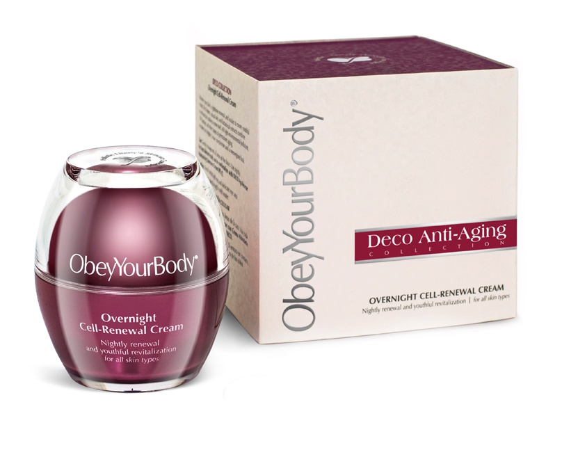 ObeyYourBody Overnight Cell Renewal Cream