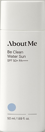 About Me Be Clean Water Sun SPF50+/PA++++