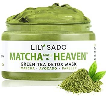 LILY SADO Green Tea Face Mask