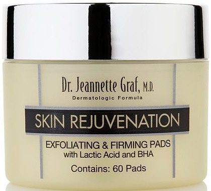 Dr. Jeannette Graf, M.D. Exfoliating & Firming Pads With Lactic Acid And BHA