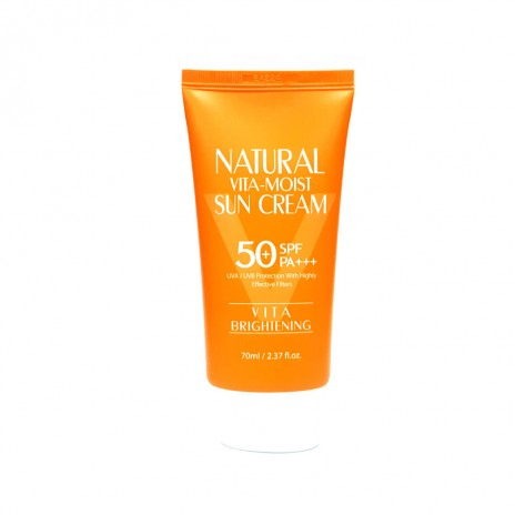 3W Clinic Natural Vita Moist Sun Cream