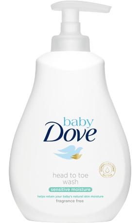 Dove Baby Head To Toe Wash Sensitive Moisture