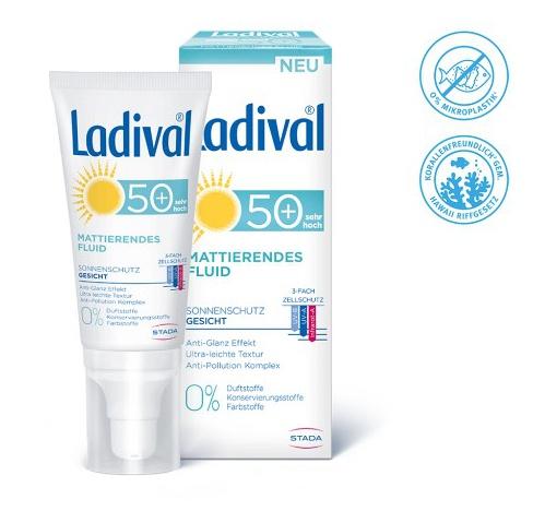 Ladival® Mattierendes Gesichtsfluid LSF 50+ Suncream