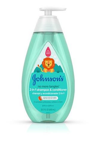 Johnson and Johnson Johnson'S® No More Tangles® 2-In-1 Shampoo & Conditioner
