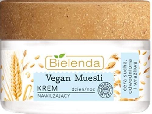 Bielenda Vegan Muesli | Oats + Wheat + Coconut Milk Moisturising Cream