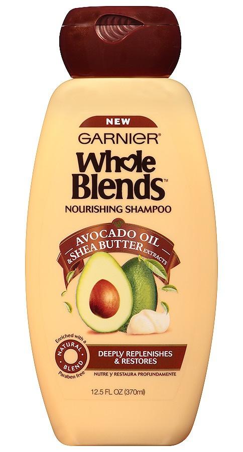 Garnier Whole Blends Nourishing Shampoo Avocado Oil & Shea Butter