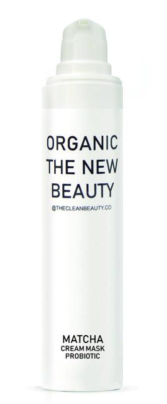ORGANIC THE NEW BEAUTY Matcha Cream Mask