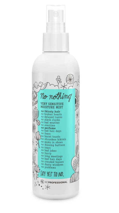 No Nothing Fragrance Free Moisture Mist