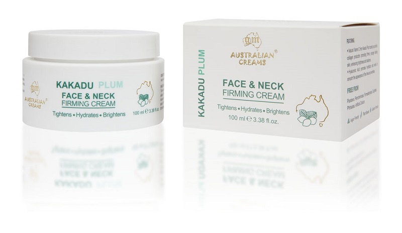 G & M Cosmetics Kakadu Plum Face & Neck Firming Cream