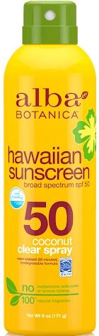 Alba Botanica Hawaiian Spray Sunscreen