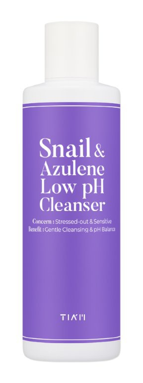 TIA'M Snail & Azulene Low Ph Cleanser