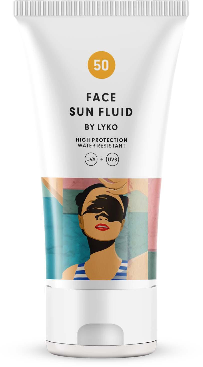 Lyko Face Cream Fluid SPF 50