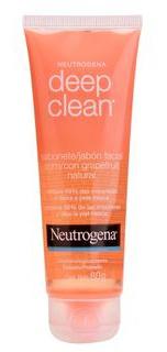 Neutrogena Sabonete Facial Deep Clean Grapefruit