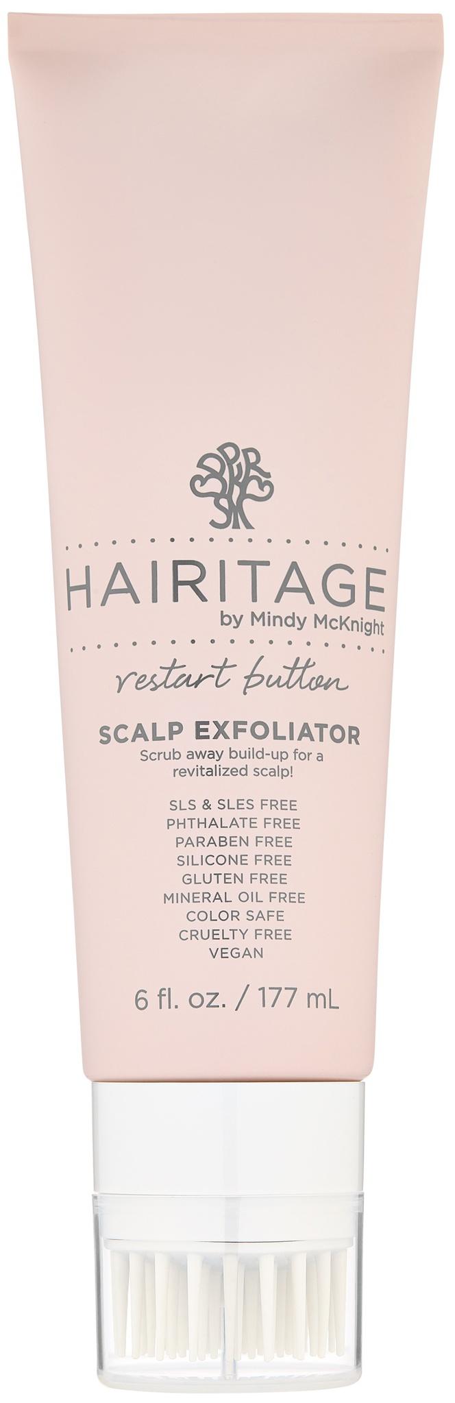 Hairitage by Mindy McKnight! Restart Button Scalp Exfoliator