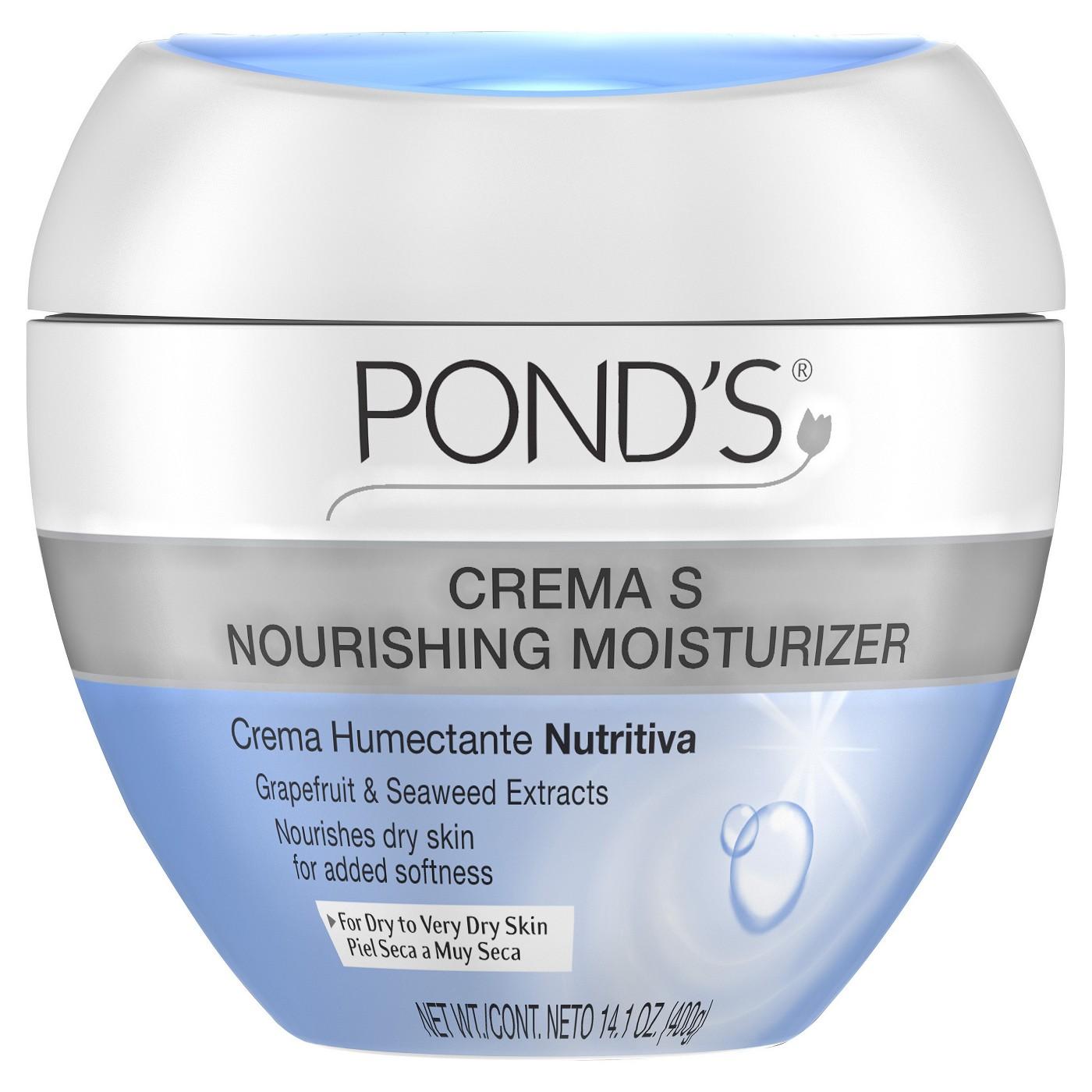 Pond's Crema S Nourishing Moisturizer