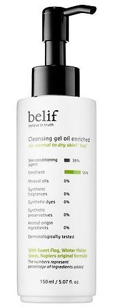 Belif Cleansing Gel Oil Enriched