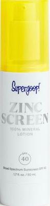 Supergoop! Zincscreen 100% Mineral Lotion
