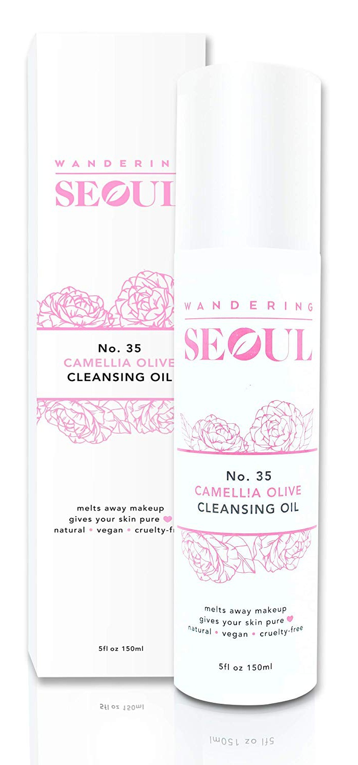Wandering Seoul No.35 Camellia Cleansing Oil