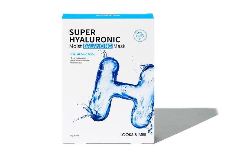 LOOKS & MEII Super Hyaluronic Moist Balancing Mask