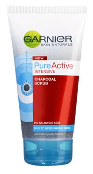 Garnier Pure Active Intensive Charcoal Scrub