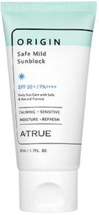 Atrue Origin Safe Mild Sunblock SPF 50+ Pa++++