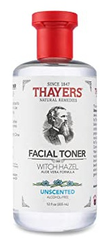 Thayers Thayers Alcohol-Free Unscented Witch Hazel Toner with Aloe Vera