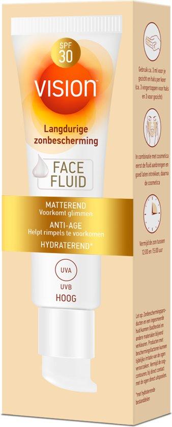 Vision Face Fluid Spf 30