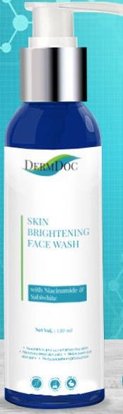 DermDoc Skin Brightening Face Wash