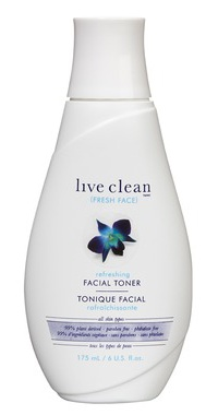 Live Clean Fresh Face Facial Toner