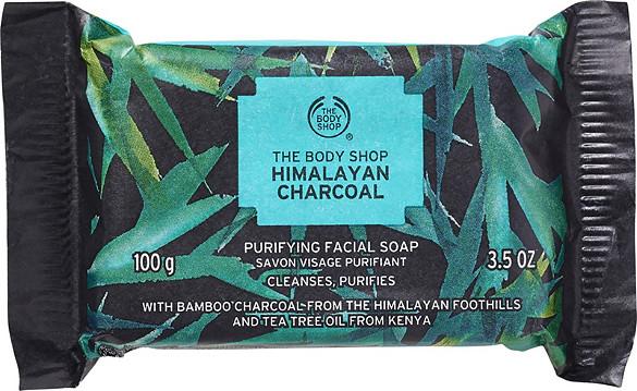 The Body Shop Himalayan Charcoal Purifying Facial Soap