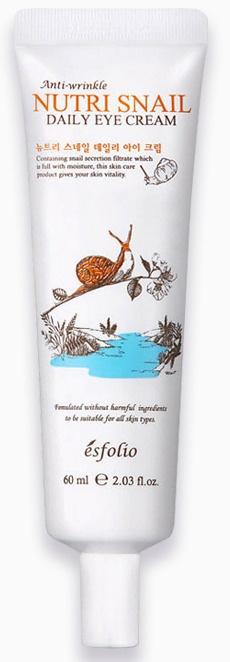 Esfolio Anti-Wrinkle Nutri Snail Daily Eye Cream